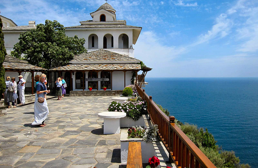 Archangel Michael Monastery on Thassos Island